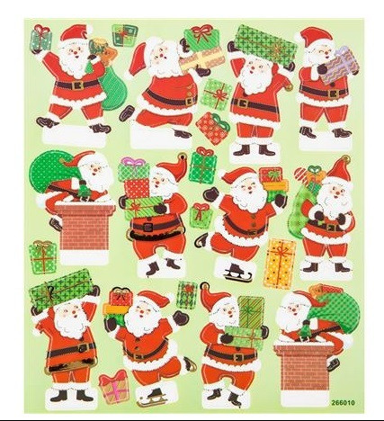 Pop-Up Stickers: Santa  -tarra-arkki