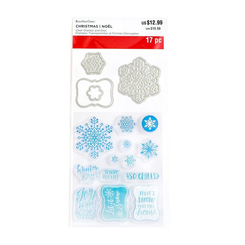 Snowflakes Clear Stamp & Die Set
