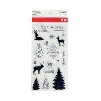 Christmas Noel: Layering Tree - leimasinsetti