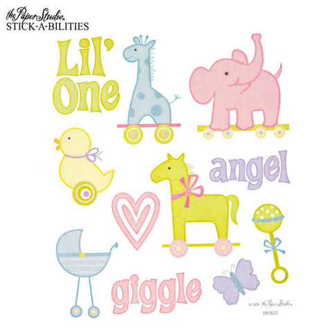 Stickabilities: Nursery Animal Glitter - tarrapakkaus