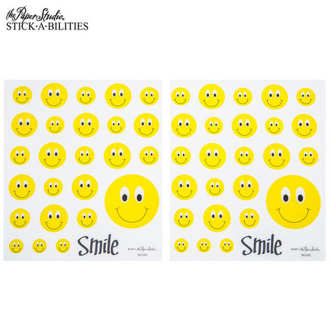 Stickabilities: Smiley Face - tarrapakkaus