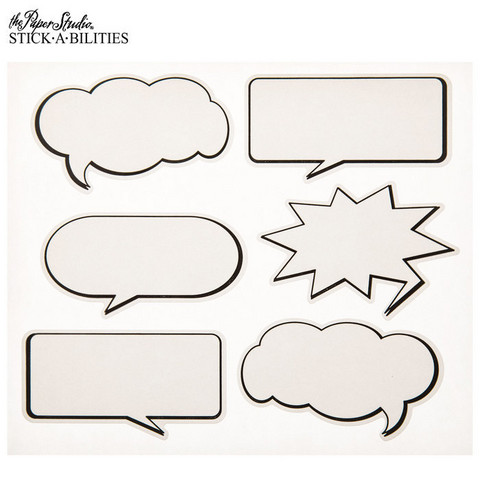 Stickabilities: Speech Balloon - tarrapakkaus
