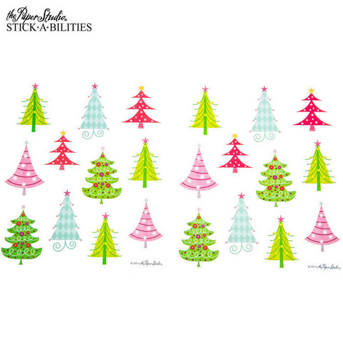 Stickabilities: Retro Christmas Tree - tarrapakkaus