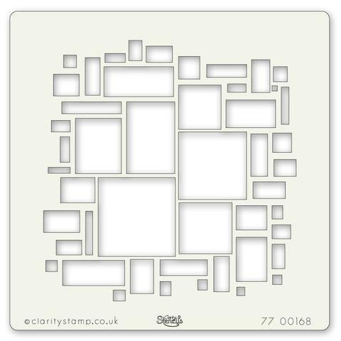 Abstract Squares #2 7x7 -sabluuna