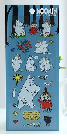 Moomin Clear Stickers 1