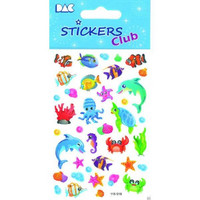 Sticker Club: Sealife Stickers
