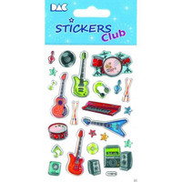 Sticker Club: Music Stickers