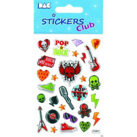 Sticker Club: Rock Stickers