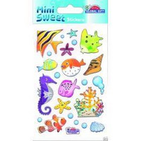 Mini Sweet Stickers: Tropical Fishes