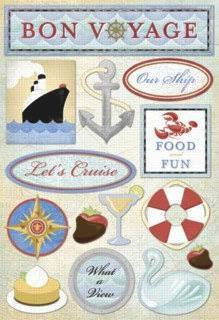 Cardstock Stickers : Let's Cruise