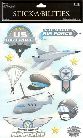 Stickabilities Cardstock Stickers: Air Force