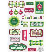 Stickabilities Cardstock Stickers: Christmas Words