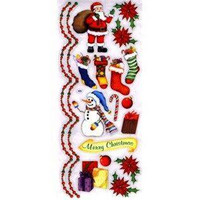 Stickabilities Long Stickers: Merry Christmas