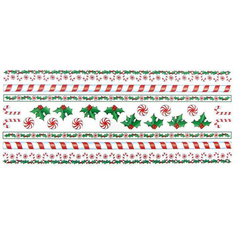 Stickabilities Long Stickers: Peppermint & Holly