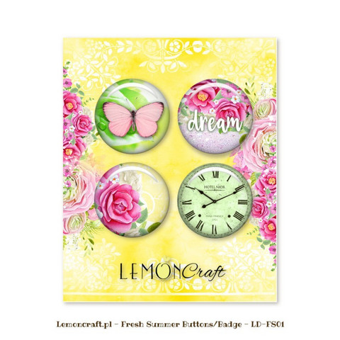 Fresh Summer Flair Buttons -  koristeet