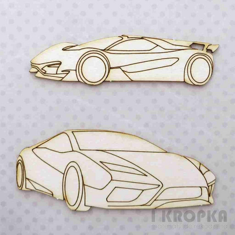 Sporty Cars - chipboardpakkaus