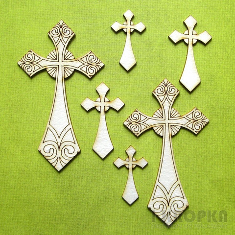Crosses Collection  - chipboardpakkaus