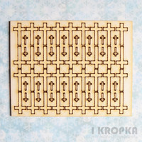 Mini Crosses - chipboardpakkaus