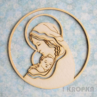 Maria & Child 1 - chipboardpakkaus