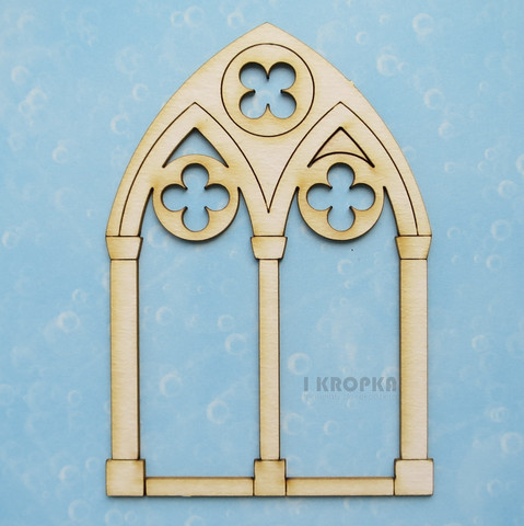 Gothic Window - chipboardpakkaus