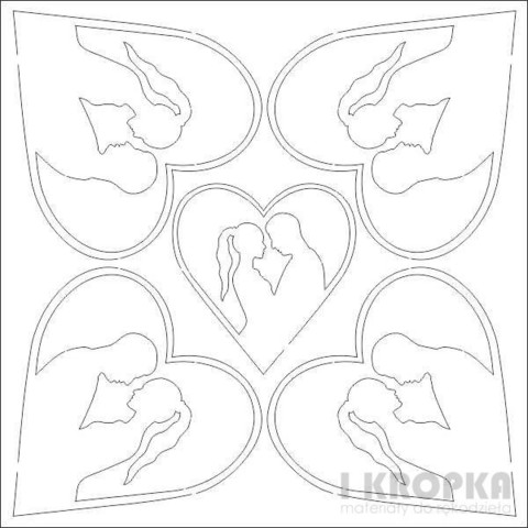 Couple Hearts - chipboardpakkaus