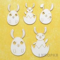 Funny Bunnies - chipboardpakkaus