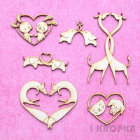 Animal Love Minis - chipboardpakkaus