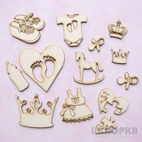 Little Girl Collection 1 - chipboardpakkaus