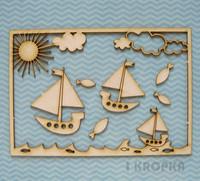Sailing  - chipboardpakkaus