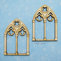 Gothic Windows Small  - chipboardpakkaus