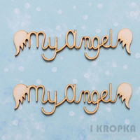 My Angel - chipboardpakkaus