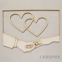 With This Ring Frame Set - chipboardpakkaus