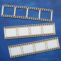 Straight Filmstrips Large - chipboardpakkaus