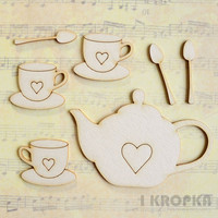 Tea Lover - chipboardpakkaus