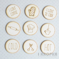 Kitchen Buttons - chipboardpakkaus