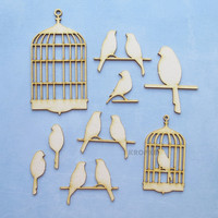 Birdcages 3   - chipboardpakkaus