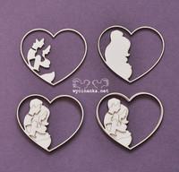 Family Album Hearts - leikekuviopakkaus