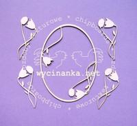 Retro Frame & Flowers - leikekuviopakkaus