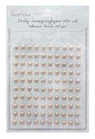 Adhensive Pearls : Beige 5 mm