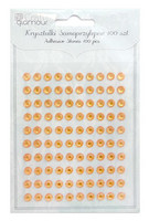 Adhensive Stones : Orange 6 mm