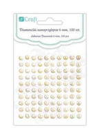 Adhensive Stones : Ivory Opal 6 mm