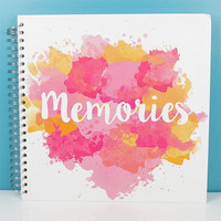 Scrapbook Album 12x12 : Memories Pink