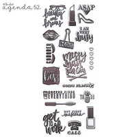 Planner Stamps: Boss Lady