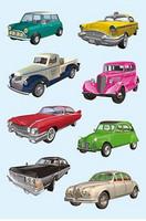 Vintage Cars - tarrapakkaus