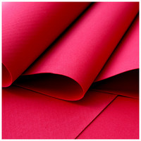 Foamiran: Poppy Red 135  - softislevy