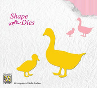 Shape Dies: Geese - stanssisetti