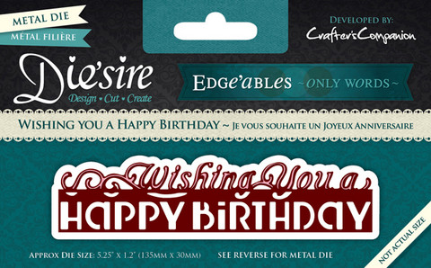 Diesire Edgeables : Wishing You a Happy Birthday - stanssi