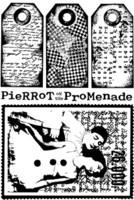 Pierrot 3 Unmounted A6 - leimasinsetti