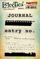 Eclectica by Sara Naumann Ezmount A5: Journal - leimasinsetti