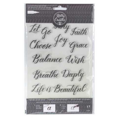 Kelly Creates Traceable Quotes Stamps 1